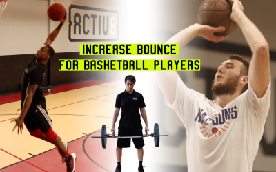Increase Bounce For Basketball Players