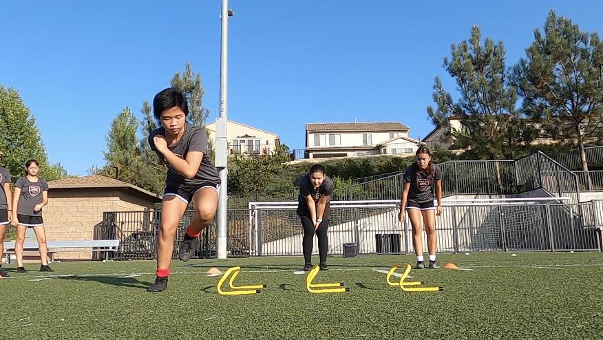 Activ8 Team Training with Vista Storm Soccer Club