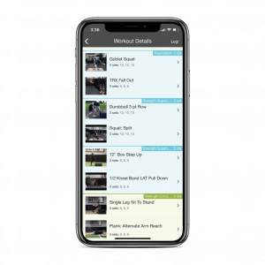 Activ8 Online Training App - Membership On The Go