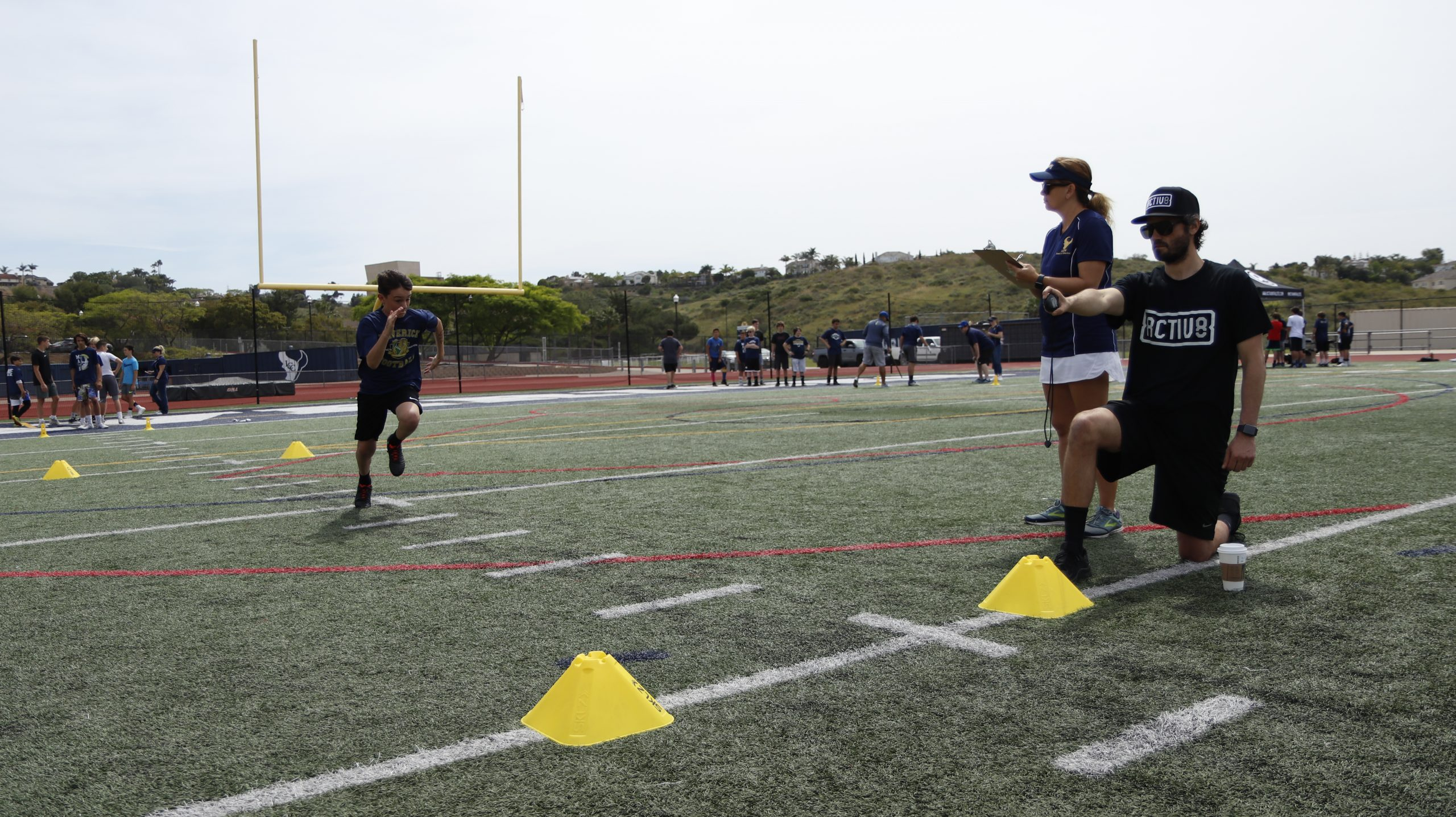 Activ8 Mock NFL Combine and Pro Day