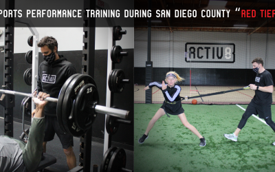 """Sports Performance Training During San Diego County """"Red Tier"""""""